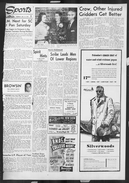 Daily Trojan, Vol. 46, No. 63, December 16, 1954