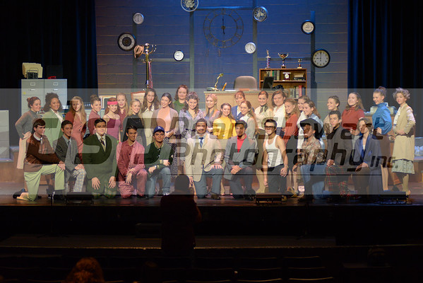 Spring Musical Dress Rehearsal