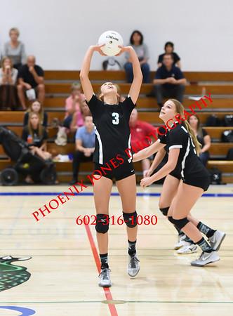 9-20-2016 - JV - Highland at Xavier Volleyball
