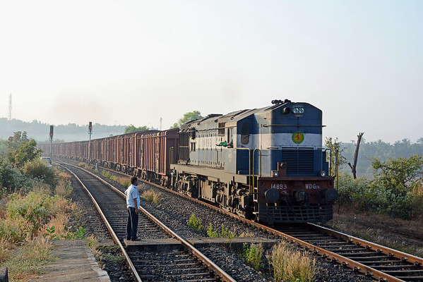 India - Mumbai, the Konkan Railway & Kerala