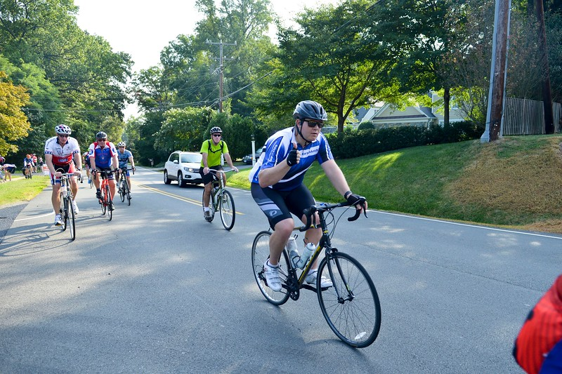 Cyclists participate in the 2016 Honor Ride, Washington D.C. The Honor Ride is a non-profit competitive cycling event that lets the public ride alongside the healing heroes of Project HERO. As a 501(c)(3) organization, Project HERO restores hope and purpose for injured active duty service members, veterans, first responders and their families by  improving their health and wellness through individual and group cycling.