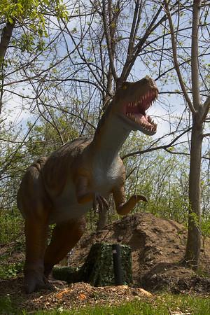 Brookfield Zoo Dinosaurs