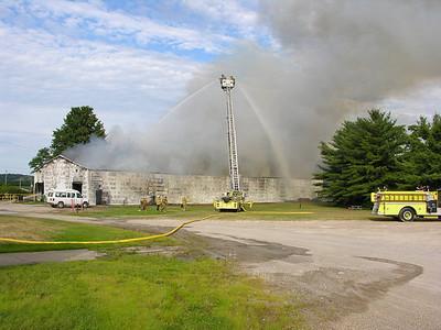 07-14-09 West Lafayette FD Structure Fire