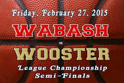 2015 NCAC Tournament versus Wooster (02-27-15)