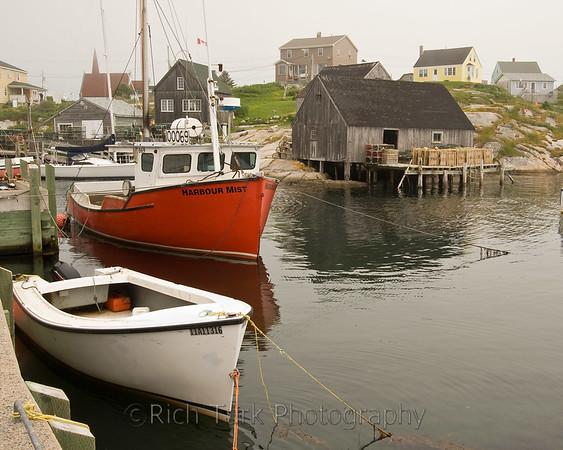 Prince Edward Island and  Nova Scotia, Canada