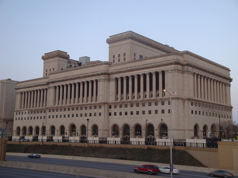 Milwaukee County Courthouse - back side.
