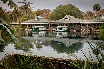 Silver Springs State Park Glass-bottom Boat Dock