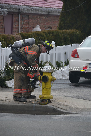 East Northport F.D. Natural Gas Leak  507 Larkfield Rd  3-1-2013