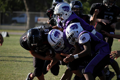 PFL - OILERS vs Angelton Panthers - 10/1/2011