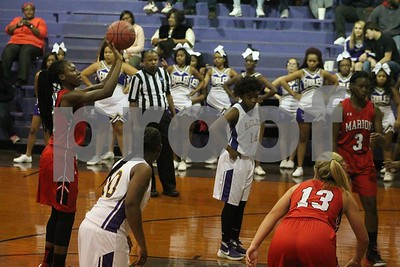 Marion vs Crawford Girls