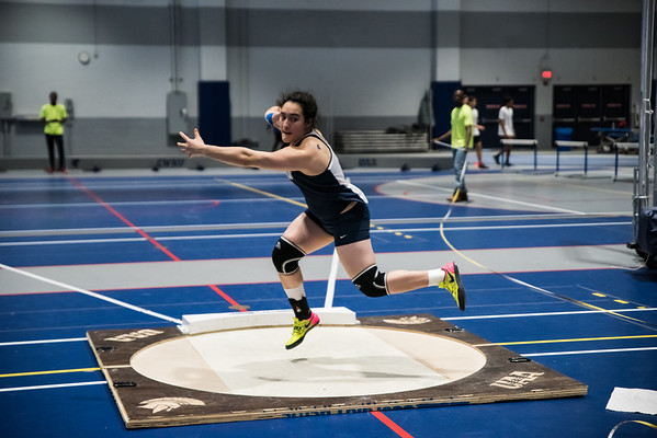 Battle of the obelisk - CWRU vs CMU indoor track dual meet 2019