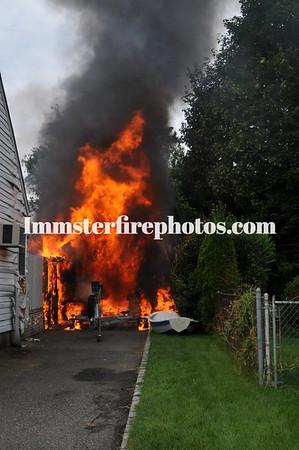 HICKSVILLE FD SALEM RD FIRE 8-14-12