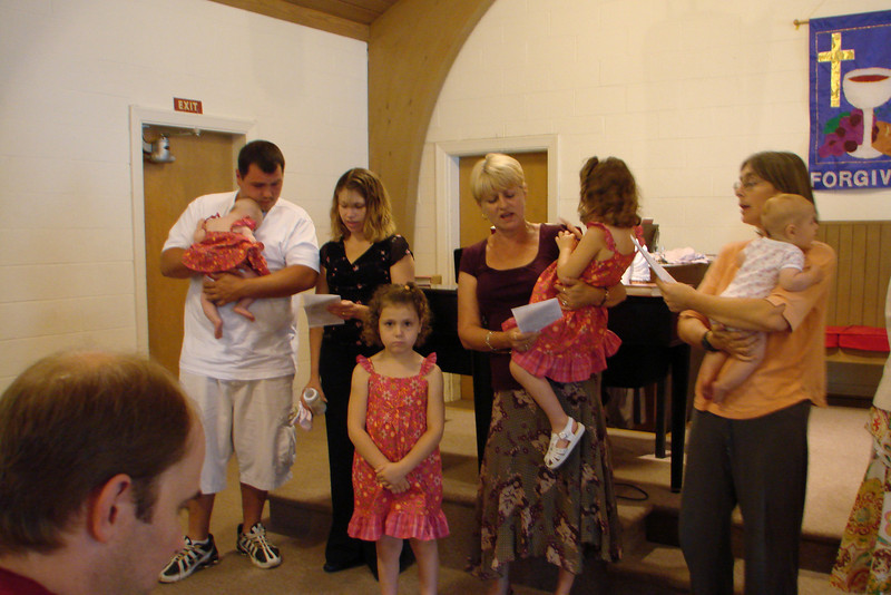 Brandy and Jimmy Marsh dedicate Calista, Catera, and Cassie to God