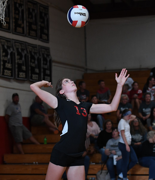 Saukee vs Cougar Volleyball 2018