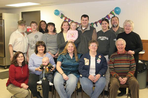 Aunt Pat's Birthday Party - January 27, 2007