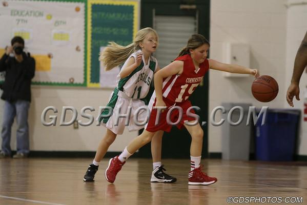 MS GIRLS VS CORNERSTONE 12-03-2013