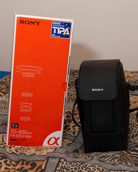 Sony 70-400 SSM G