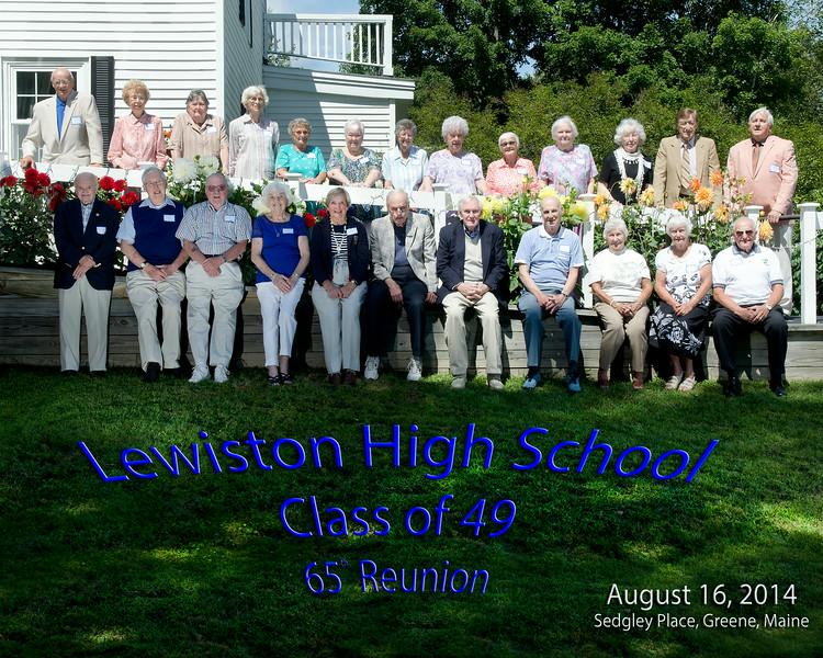 LHS Class of 49 reunion