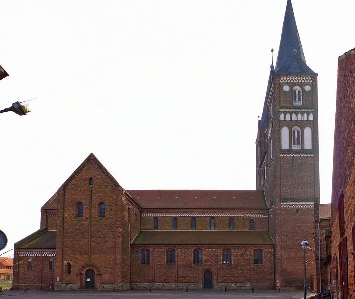 Jerichow, Stiftskirche: Nordansicht