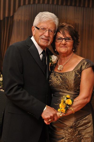 Mr. and Mrs. Glorioso's 50th