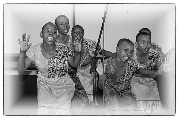 Mwamba Children's Choir Los Angeles Tour 2013 Publicity Photographs