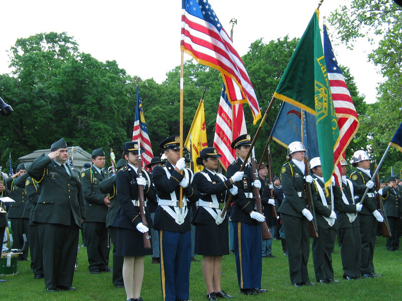 Lane Tech High School ROTC