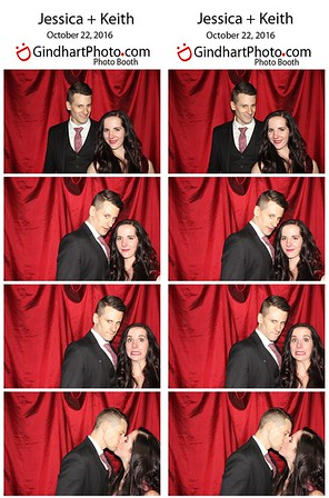 Jessica + Keith's Photobooth