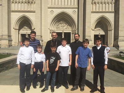 National Cathedral Service with Acolytes 2016