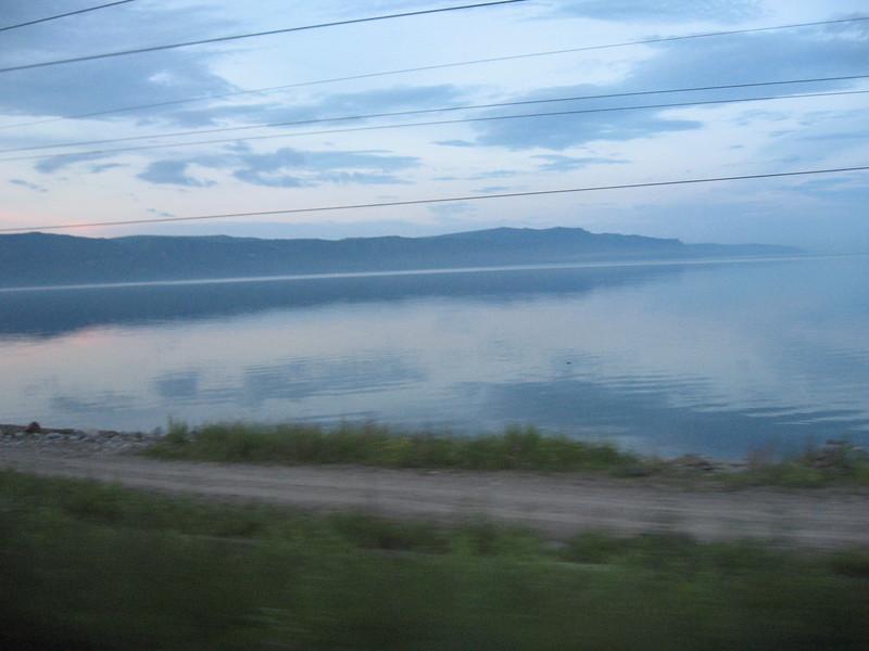 Mist over Lake Baikal - Leslie Rowley