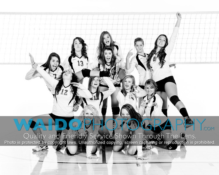 2012 FCHS Volleyball