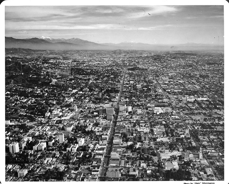East Hollywood Aerial