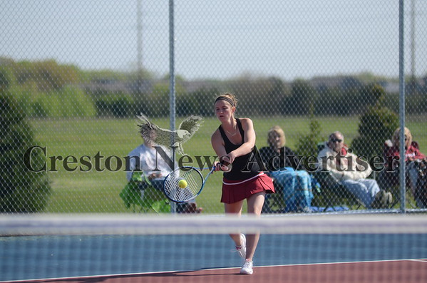 05-19 Creston & Clarke girls regional tennis