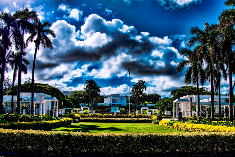 Laie Hawaii Morman Temple