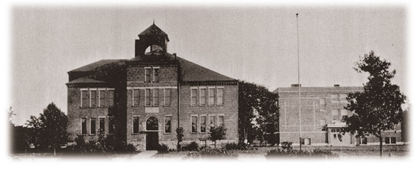 . Historic photo provided by Jim Smith <br> Garfield School was built in 1901 on W. 31st St., Lorain.