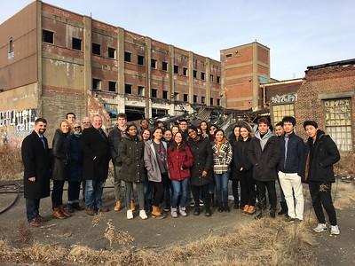 2/22/19: GLI Scholars tour Anamet site