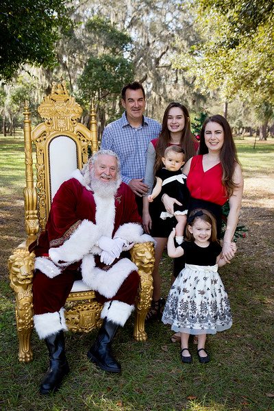 Santa Minis 2018: The Banning Family!
