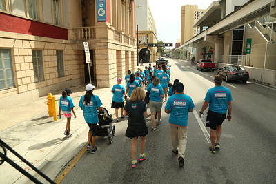 """03-21-14 """"Walk In My Shoes"""" Miami HEAT Go the Extra Mile for Child Abuse Prevention at AAA by Omar Vega"""