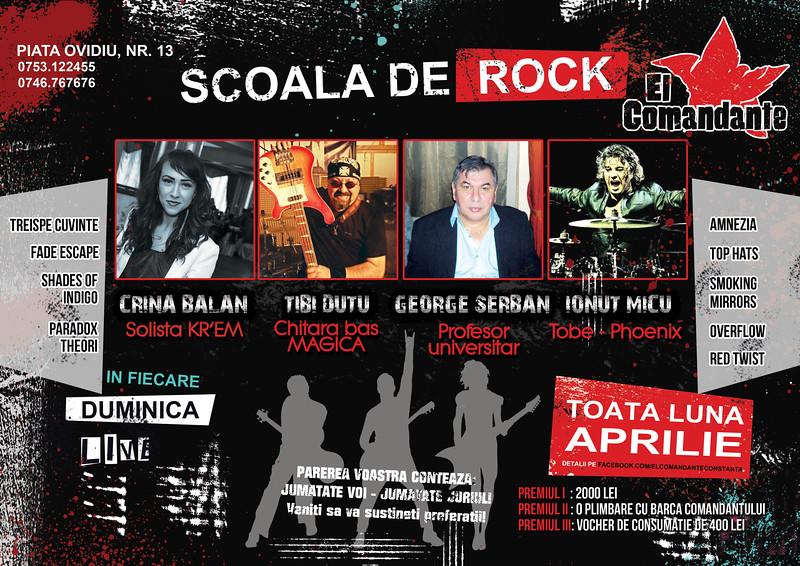 Scoala de rock