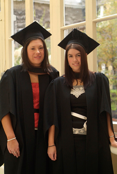 Fiona Kavanagh, Kildavin, Bunclody, Co. Wexford and Michelle Finn, Gorey, Co. Wexford were both conferred with Bachelor of Business (Honours) at Waterford Institute of Technology.
