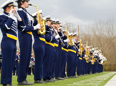 Marian University Marching Knights, Drumline and Color Guard, Nov. 26, 2011