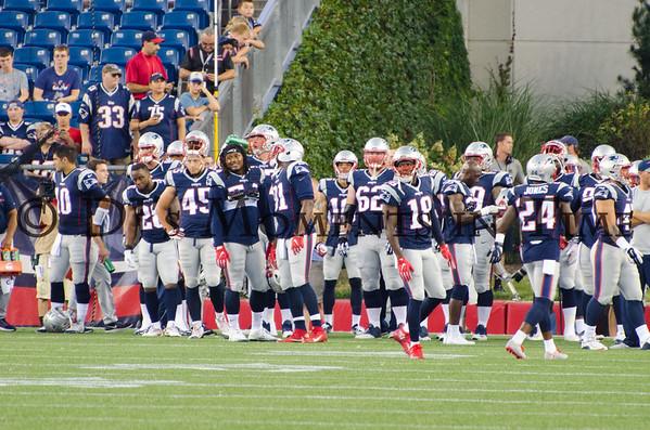Patriots vs Bears Aug 18, 2016