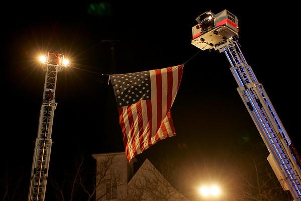 1-17-11 Officer Chris Matlosz Candle Light Vigil
