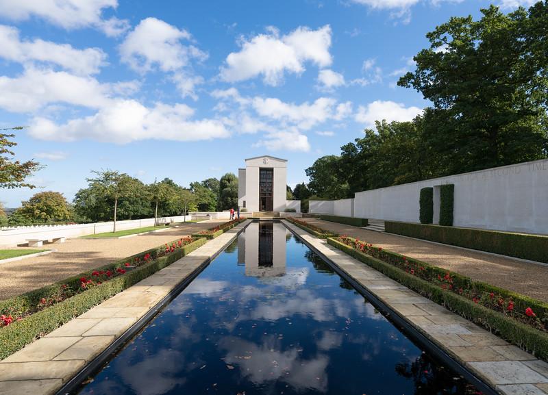 Cambridge American Cemetery (Oct 2021)