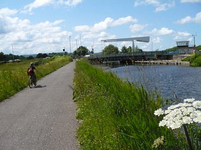 Cycle Trip; Exe Canal