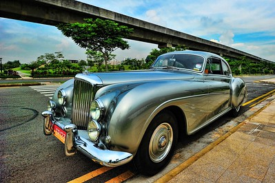 Bentley R-Type Continental at Sengkang East Garden