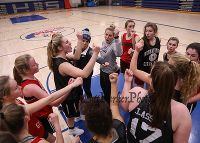 2019-1-22 WHS Girls Basketball Practice