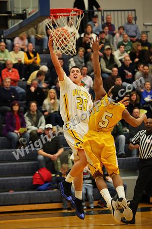 2011 02 25 Clarkston Varsity Basketball vs North Farmington