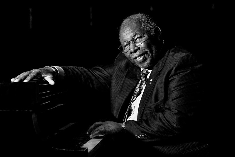 Oliver Jones. Canadian Jaz Pianist, composer,arranger.