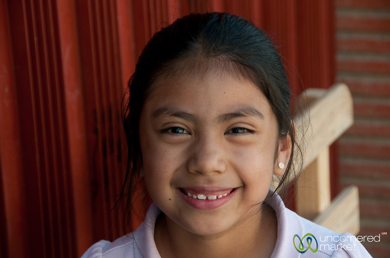 Young Mexican Girl - San Martin Tilcajete, Mexico