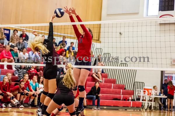 Volleyball SHS vs Maple Mt 9-9-2014